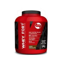 Whey Fort 1,8Kg Chocolate Vitafor -