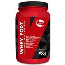 Whey Fort 900 g - Vitafor baunilha -