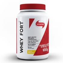 Whey Fort - 900g Abacaxi - Vitafor -