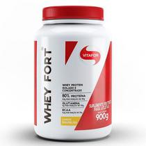 Whey fort 900g baunilha - vitafor -