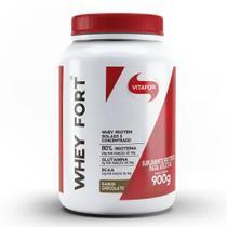 Whey fort 900g chocolate vitafor -