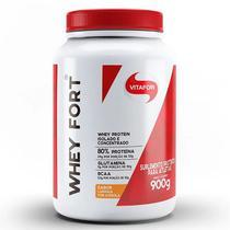 Whey fort  - 900g - laranja c/ acerola-vitafor -