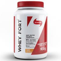 Whey Fort  900g Laranja com Acerola Vitafor -
