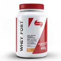 Whey Fort - 900g Laranja com Acerola - Vitafor -