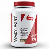 Whey Fort 900g Proteina Isolada e Concentrada - Vitafor -
