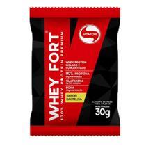 Whey Fort Baunilha Sachê de 30g Vitafor -