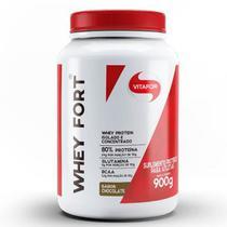 Whey Fort Chocolate Vitafor 900G -