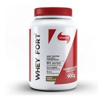 Whey fort chocolate vitafor - 900gr -