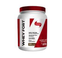 Whey Fort Vitafor 600g Isolada BCAA, L-glutamina Chocolate -