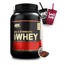 Whey Gold 100 2lbs (909g) - Optimum Nutrition + 2x Copos
