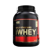 WHEY GOLD 100 5LBS (2273g) - MORANGO - Optimum nutrition
