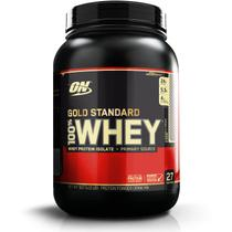 Whey Gold Standard 907g Chocolate com Amendoas Optimun Nutrition - Optimum nutrition
