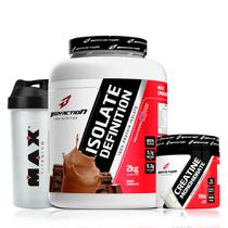Whey Isolado 2kg + Creatina 300g Bodyaction Frete Gratis - Body action