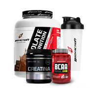 Whey Isolate 2Kg + Bcaa 100 Cáps + Creatina 100G - Body action