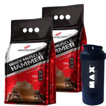 Whey Muscle Hammer Isolado Hidrolisado 3600g - Body Action