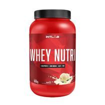 WHEY NUTRI (900g) - Baunilha - Intlab -