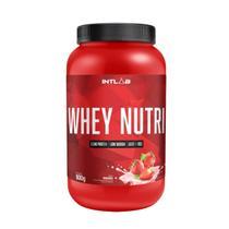 WHEY NUTRI (900g) - Morango - Intlab -
