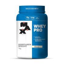 Whey Pro 1Kg Whey Concentrado 100% - Max Titanium -