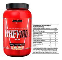 Whey Protein 100 Pure 907g Chocolate  - Integralmedica - Integralmédica