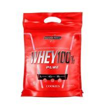 Whey Protein 100% Pure 907g Cookies Refil Integralmédica - Integralmedica