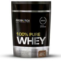 Whey Protein 100% Pure Probiótica 825g Refil Vários Sabores -
