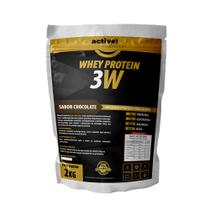 Whey Protein 3w 2kg (chocolate) - ActiveNutrition