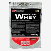 Whey Protein 500g (Refil) Chocolate  Bodybuilders -