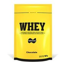 Whey Protein - 907g Refil Chocolate - Naturovos -