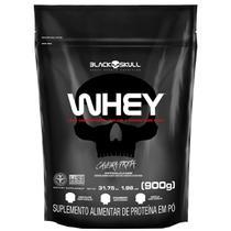 Whey Protein Black Skull Sabor Chocolate Refil 900g -