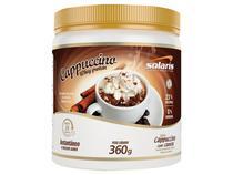 Whey Protein Cappuccino 360g  - Capuccino com Canela - Solaris Nutrition
