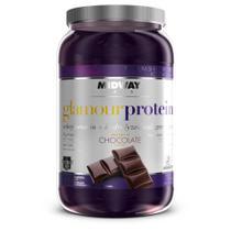 Whey Protein com Colágeno Glamour 900g - Midway usa -