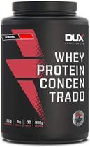 Whey Protein concentrado 900g - Dux Nutrition Sabor: Morango -