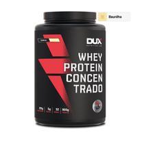 Whey Protein Concentrado Baunilha - Pote 900g - Dux Nutrition Lab -