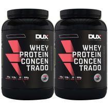 Whey Protein Concentrado Cappuccino 900g Dux 2 Un - K-Fit