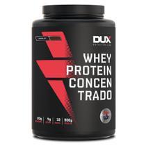 Whey Protein Concentrado Chocolate - Pote 900g - Dux Nutrition Lab -