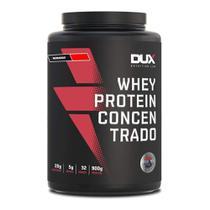 Whey Protein Concentrado Morango - Pote 900g - Dux Nutrition Lab -