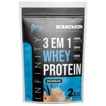 whey protein hidrolisado isolado concentrado 3w 2kg Infinity - Baunilha -