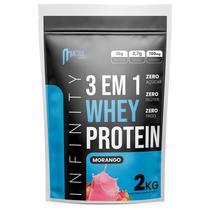 whey protein hidrolisado isolado concentrado 3w 2kg Infinity - Morango -