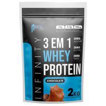 whey protein isolado concentrado hidrolisado 3w 2kg Infinity - Chocolate -