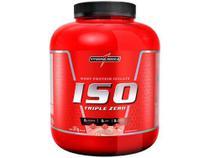 Whey Protein Isolado Integralmédica - Iso Triple Zero 1,8kg Morango Natural -