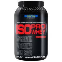 Whey Protein Isolado Iso Pro Whey Baunilha 900g - Probiótica -