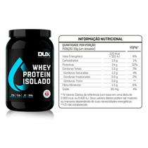 Whey Protein Isolado - Pote 900gr (chocolate) - DUX NUTRITION -