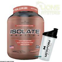Whey Protein Isolate Peptide 100% Isolado 1680g Metaform + Coqueteleira - Metaform Nutrition