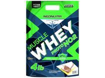Whey Protein Muscle Proto NO2 - refil 1,8kg - Chocolate - NeoNutri