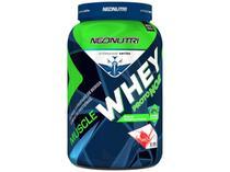Whey Protein Muscle Proto NO2 - Refil 900g - Baunilha - NeoNutri