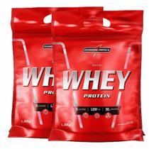 Whey Protein Nutri Whey 1,8kg Chocolate - Integralmédica -