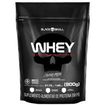 Whey protein refil black skull - 900g (wpi, wpc, wph) - Caveira Preta -