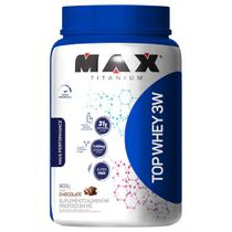 Whey Protein Top Whey 3W Mais Performance 900 g - Max Titanium -
