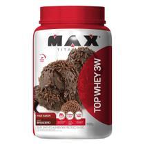 Whey Protein Top Whey 3W Mais Sabor 900 g - Max Titanium -