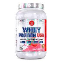 Whey Protein USA 100% Midway Sabor Morango 907,1g -